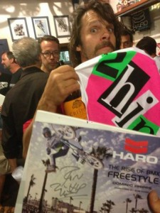 Rainer @ Haro Book launch